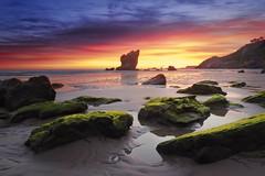 Excited (Anto Camacho) Tags: sunrise asturias landscape seashore rocks colours waterscape nature light clouds beauty sunshine