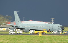 295 (GSairpics) Tags: 265 boeing boeing707 aircraft aeroplane airplane aviation mil military israeliairforce iaf airport pik egpk prestwickairport ayrshire scotland