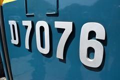 ELR Diesel Gala (colin9007) Tags: railway lancashire east diesel gala beyer peacock mekydro hymek maybach class 35 type 3 hydraulic d7076