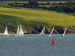 Smaller Yachts Racing (Cornishcarolin. Thank you for over 2 Million Views) Tags: cornwall falmouth pendennispoint boats yachts water carrickroads theriverfalestuary racingyachts