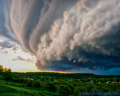 Supercell (elviskennedy) Tags: 2490 blue cell cloud clouds cumulus doorcounty drama dramatic eggharbor elmarit elvis elviskennedy front green june kennedy leica leicacamera leicasl mesocyclone nimbus orange puffy rain rolling sky storm striations summer sunset supercell superimpose thunderhead thunderstorm trees up updraft updrafts village weather wi wiscosin wwwelviskennedycom landscape nature outside outdoor