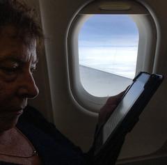 GAM Day 151-17 homeward bound (gamulryan) Tags: jill plane window kindle rimlight