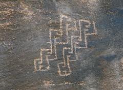 Petroglyph / Sand Island Site (Ron Wolf) Tags: anthropology archaeology bearsearsnationalmonument nationalpark nativeamerican sandisland design geometric petroglyph rockart utah