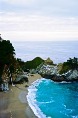 McWay Falls, CA (buddу) Tags: bigsur pacificcoast highway1 pacificocean ocean olympus usa us unitedstates america world west mountains outdoors adventure trip travel wanderlust nature california cali ca landscape planetearth sky road
