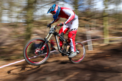 MTB Race Cannock Chase Downhill Trails