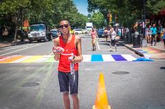 2017.06.10 Painting of #DCRainbowCrosswalks Washington, DC USA 6377