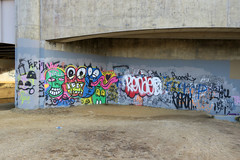 Georgetown Canal (Daquella manera) Tags: washingtondc street art arte callejero paste up