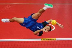 ASEAN School Games- Sepak Takraw (REVIT PHOTO'S) Tags: sepak takraw sepakraga sport aseanschoolgames asean footvolleyball stunt thailand