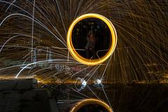 170714 7002 (steeljam) Tags: steeljam nikon d800 lightpainters olympic park canal hertford union wire wool spinning