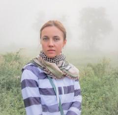 Before sunrise (kud4ipad) Tags: 2016 prokhorovka portrait mist fog field tree outdoors