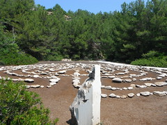 Labyrint on Metalia beach (jecadim) Tags: thassos labyrint metalia beach macedoniagreece