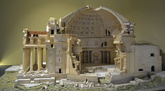 Pantheon model 1 (PhillMono) Tags: nikon d7100 dslr leonardo da vinci museum technology milan italy pantheon temple building model architect architecture cutaway miniature display history heritage