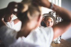 #27/52 Réflexion #28/52 Trois (anneso duchemin) Tags: reflection mafille chignon miroir reflet reflexion mirror
