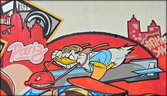 Lisboa 2017 - Donald Duck na Travessa de São Vicente (Markus Lüske) Tags: portugal lisbon lisboa lissabon graffiti graffito wandmalerei mural muralha street kunst art arte streetart urbanart urban lueske lüske