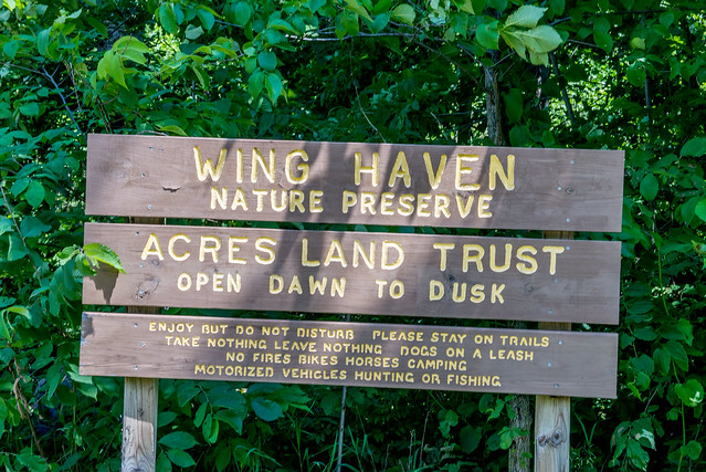 Wing Haven Nature Preserve - June 20, 2017