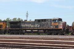 UP 6362 (CC 8039) Tags: up sp trains ac44cw wann east alton illinois