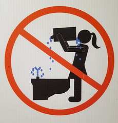 No Drinking Toilet Water (pokoroto) Tags: no drinking toilet water stick figure 5月 五月 早月 gogatsu satsuki fastmonth 2017 平成29年 summer may edmonton エドモントン canada カナダ アルバータ州 alberta