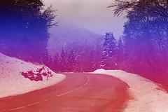 film (La fille renne) Tags: film analog lafillerenne 35mm canonae1program 50mmf18 alterlogue alterloguekitsune colorful snow hike hiking travel mountain