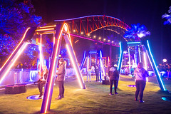 VIVID 2017 Vivid Sydney Harbour Swings