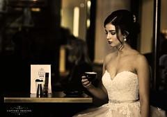 Maddy (Capture Imaging) Tags: qvb styledshoot sydney townhall reddress wedding weddinggown refinedhairandmakeup nikond5 godox