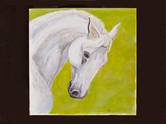 Strength is Beauty (M.P.N.texan) Tags: acrylic acrylics horse equine art painting original handpainted mpn