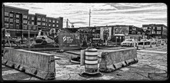 DxO Filmpack 5 Conversion (brev99) Tags: d610 tamron28300xrdiif construction downtown bradyartsdistrict buildings parkinglot partlysunny nikdfine photoshopelements12 viewnx2 dxooptics9 cacorrection colorefex nikviveza perfecteffects17 ononesoftware on1photoraw2017 dxofilmpack5