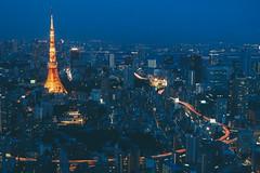 Tokyo tower 東京鐵塔|東京遊記 Tokyo trip (里卡豆) Tags: olympus penf olympus25mmf12pro 日本 東京 東京鐵塔 japan tokyo tokyotower tower asia night city 25mm f12 pro
