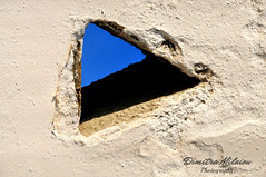 love blue sky... (dimitra_milaiou) Tags: blue window sky white architecture wall texture greek greece hellas paint weather nice happy sun sunkissed light day summer nikon milaiou dimitra geometry abstract minimal minimalism shadow tradition traditional dove dovecote d90 d 90 photography island cyclades andros detail open space world europe people build fresh air moment ngc holidays bright vacations visit art τεχνη