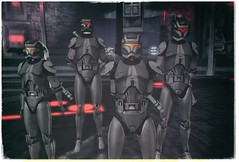 Rancor Squad Photo (The Gentleman Dystopic) Tags: secondlife star wars byss swrp armor troopers