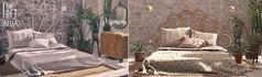 The Loft & ARIA - Branwyn Bedroom @ Collabor88 (Yelo Uriza / Loft & Aria) Tags: second life sl aria the loft collabor88 c88 collab collaboration mesh virtual world living bed bedroom original sleep summer modern minimalist boho chic decor design home garden hg