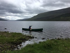 Solo (What I saw...) Tags: hou canoe prospector camping camp wildcamping loch arkaig scotland highlands