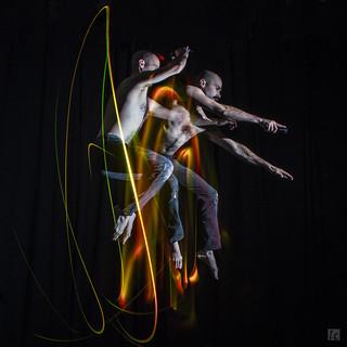 Light Painting - Trampoline 3