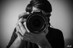 Project 365; #173 (iMalik1) Tags: project 365 days photo day challenge potd black white monochrome monotone self portrait selfie camera canon eos 600d m3 new lens 18 135 mm stm photography imalik ealing photographer