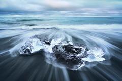 Jokursalon Islande (EtienneR68) Tags: landscape bleu blue eau glace ice mer nature paysage jokursarlon sea sunset water marque a7r2 a7rii sony pays iceland islande