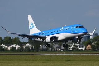 PH-EXL Embraer 175 EHAM 20-05-17