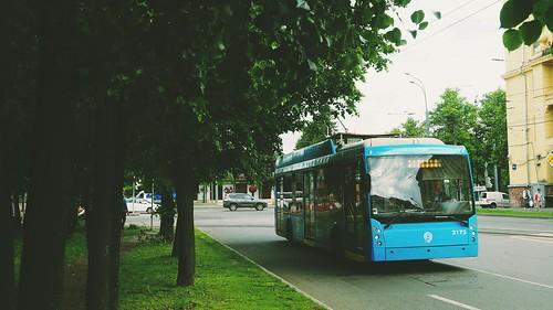 Moscow trolleybus 2175 Trolza-5265 Megapolis