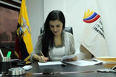 Ministerio de Justicia aprobó reglamento de aplicación del Decreto 1440 - 09 de junio de 2017 - Quito (Ministerio de Justicia, Derechos Humanos y Cultos) Tags: ministerio ministeriodejusticia ministra rosana alvarado reglamento decreto 1440
