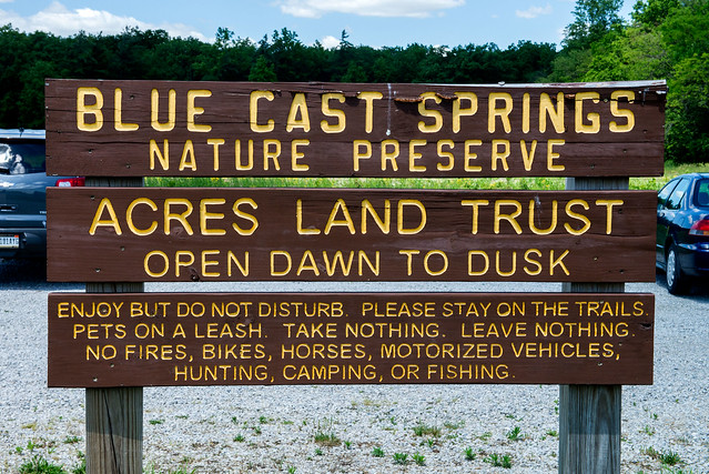 Blue Cast Springs Nature Preserve - June 7, 2017
