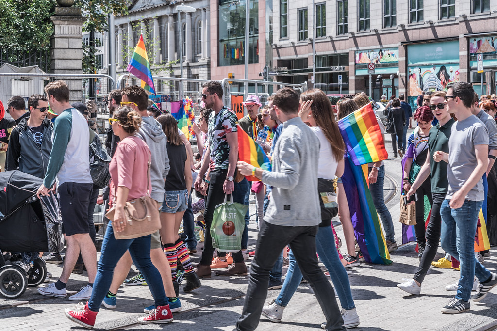LGBTQ+ PRIDE PARADE 2017 [STEPHENS GREEN BEFORE THE ACTUAL PARADE]-129738