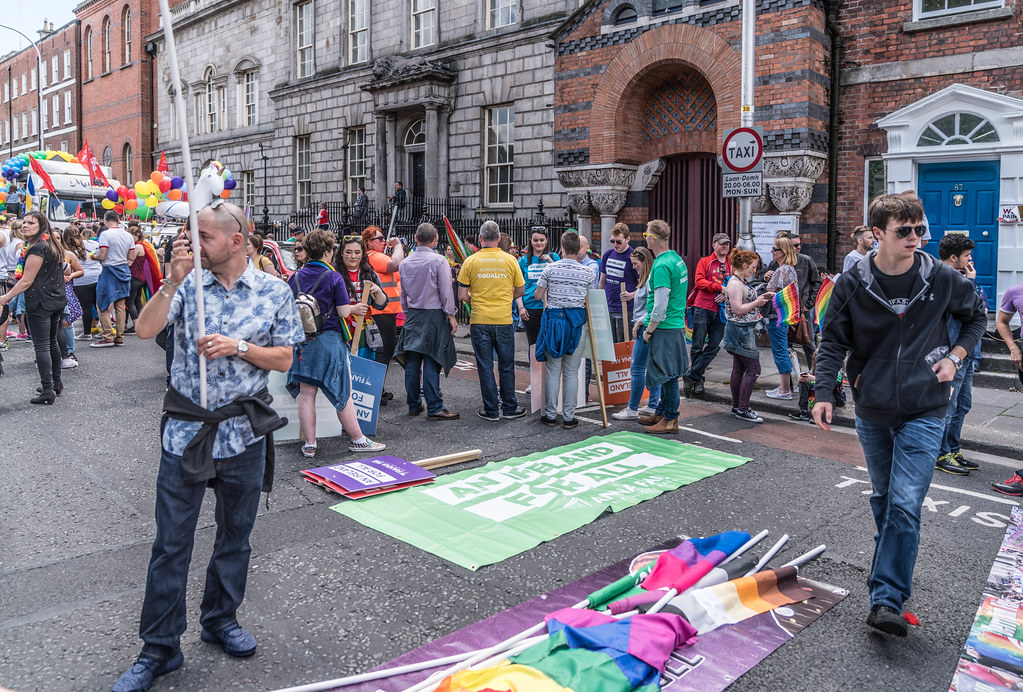 LGBTQ+ PRIDE PARADE 2017 [STEPHENS GREEN BEFORE THE ACTUAL PARADE]-129788