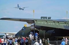 Tag der Bundeswehr + 60 Jahre LTG61 (gooneybird29) Tags: flugzeug flughafen aircraft airport airplane airline airbase etsa penzing ltg61 tagderbundeswehr luftwaffe transall c160