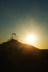 Wish (Swebbatron) Tags: australia southaustralia cooberpedy opal mining town travel fuji radlab 2008 sunset silhouette groovygrape