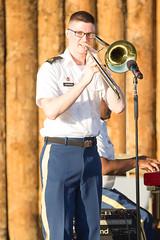 The United States Army Jazz Ambassadors Summer Tour 2017 (TUSAFBPhoto) Tags: historicfortsteuben steubenville ohio louisberkmanamphitheater summer tour music morale military usa