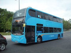 National Express Coventry 4775 at Warwick University bus station (Tom Burnham) Tags: uk warwickshire coventry bus bv57xkw enviro400 alexander dennis