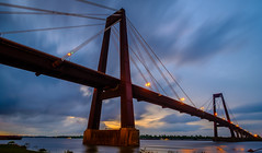 And When You Get There, You'll Know Why You Did.. (fuzzy_dunlop_nola) Tags: longexposure louisiana southlouisiana fujixt2 wideangle view dusk riverfront river water xt2 fujifilm evening luling stcharlesparish landscape waterscape fujifilmxt2 waterfront suspensionbridge light bluehour thebluehour mississippiriver vantage scenic serene lights blue night mirrrorless 3stop bwfilter bw cloud clouds cloudy color neutraldensity neutraldensityfilter shoreline sunset sunlight nightfall ndfilter waterway haleboggsmemorialbridge lulinglouisiana