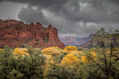 A Storm Is Brewing (emiliopasqualephotography) Tags: sedona arizona storm clouds autumncolors