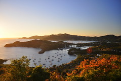 The Golden Hour (charlottehbest) Tags: charlottehbest 2017 february holiday relaxing postrow islandlife sundowners sunset caribbean antigua antiguaandbarbuda water scenery landscape beautiful paradise goldenhour