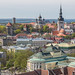 Tallinn City,View From Hotel Roof