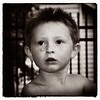 Ginger Boy (Oliver Leveritt) Tags: nikond610 afsnikkor2470mmf28ged oliverleverittphotography sb800 flash speedlight monochrome sepia platinum blackandwhite boy child ginger freckles