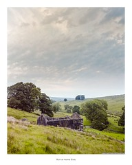 Ruin at Holme Ends (Rory Prior) Tags: bronica calderdale etrsi fujicolorpro400h gorple yorkshire film mediumformat negative summer